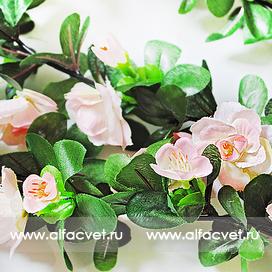 Купить лиана с цветами интернет магазин искусственных цветов ... 8a02fd9193d3a